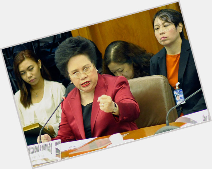 Miriam Defensor Santiago where who 4