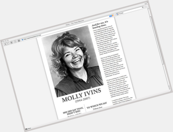 Molly Ivins hairstyle 4
