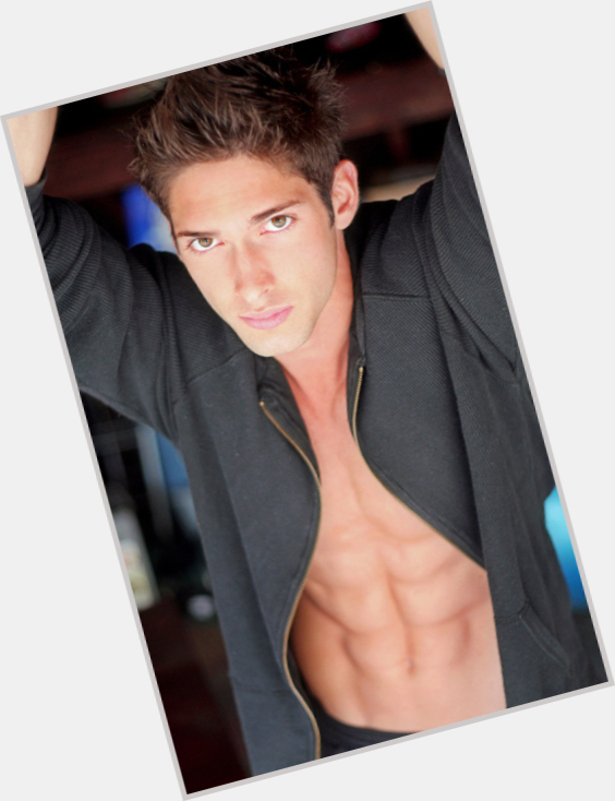 "<a href=""/hot-men/matthew-florida/is-he-matt-florido"">Matthew Florida</a> Athletic body,  dark brown hair & hairstyles"