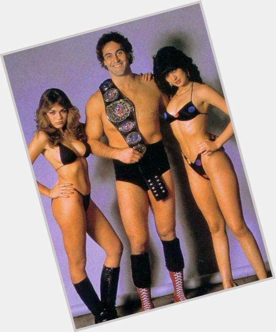 Mike Rotunda dark brown hair & hairstyles Athletic body,