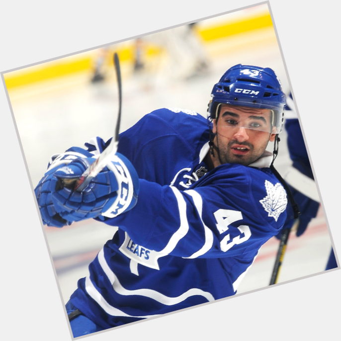 Nazem Kadri dark brown hair & hairstyles Athletic body,