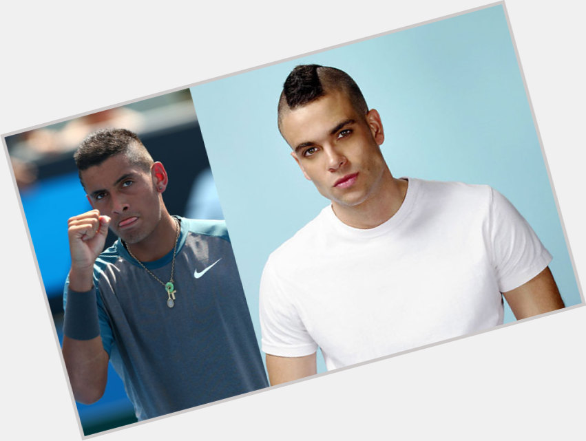 "<a href=""/hot-men/nick-kyrgios/where-dating-news-photos"">Nick Kyrgios</a> Athletic body,  dark brown hair & hairstyles"