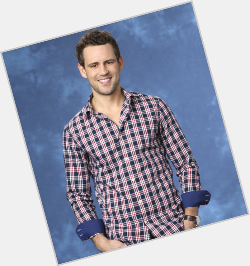 Nick Viall light brown hair & hairstyles Athletic body,