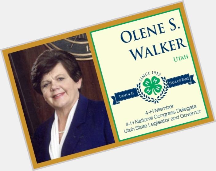 Olene Smith Walker birthday 2015