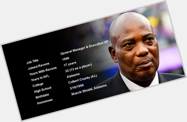 Ozzie Newsome birthday 2015