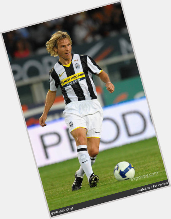 Pavel Nedved blonde hair & hairstyles Athletic body,