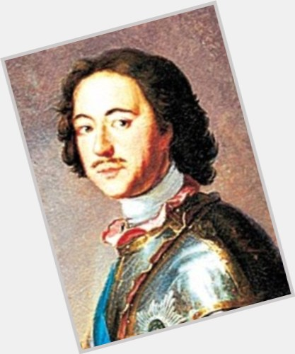 Peter The Great light brown hair & hairstyles Athletic body,