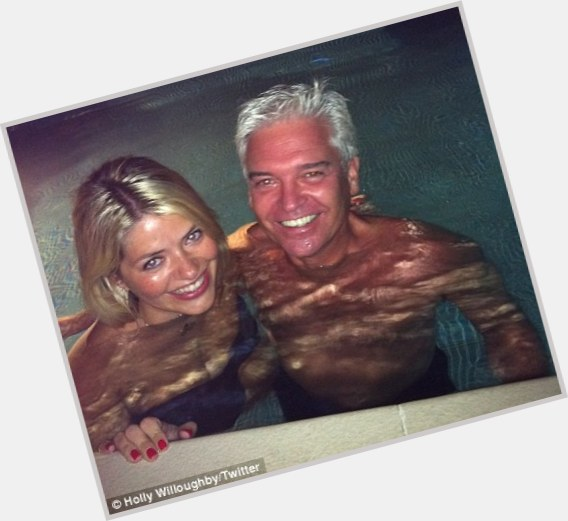 "<a href=""/hot-men/phillip-schofield/is-he-married-leaving-morning-holly-willoughbys-dad"">Phillip Schofield</a> Average body,  grey hair & hairstyles"