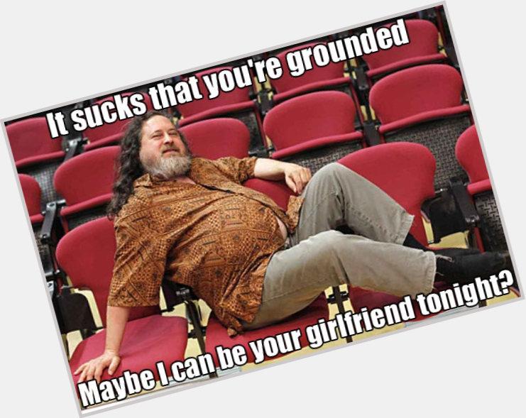 "<a href=""/hot-women/richard-stallman/where-dating-news-photos"">Richard Stallman</a> Large body,  salt and pepper hair & hairstyles"
