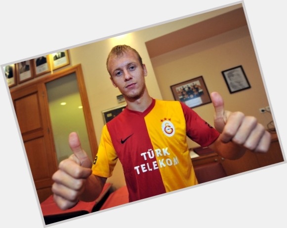 Semih Kaya blonde hair & hairstyles Athletic body,