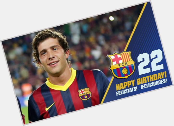 Sergi Roberto birthday 2015