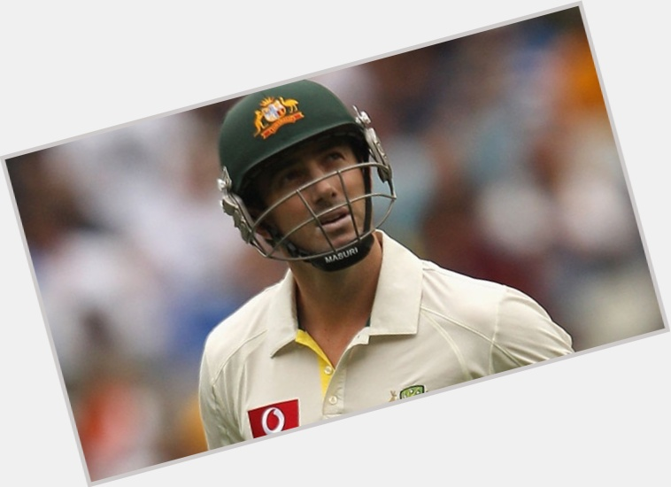 Shaun Marsh light brown hair & hairstyles Athletic body,
