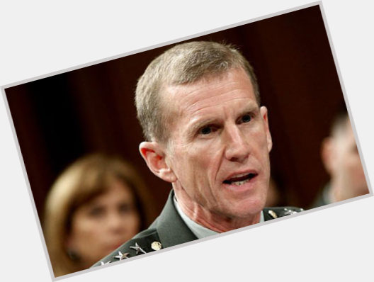 Stanley A  McChrystal dating 2