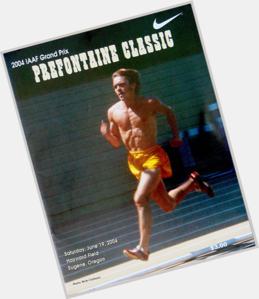 Steve Prefontaine light brown hair & hairstyles Athletic body,
