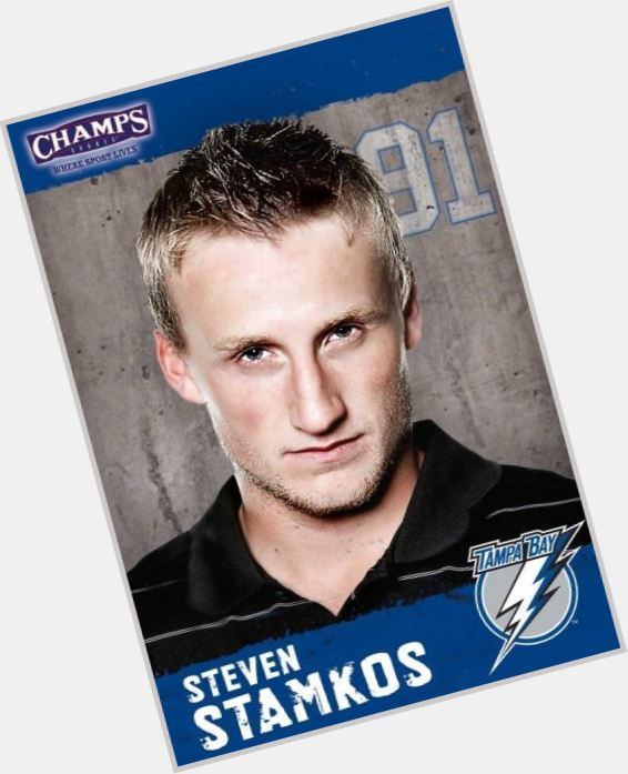 Steven Stamkos blonde hair & hairstyles Athletic body,