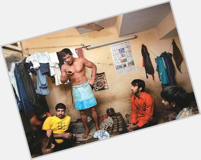 "<a href=""/hot-men/sushil-kumar/where-dating-news-photos"">Sushil Kumar</a> Bodybuilder body,  black hair & hairstyles"