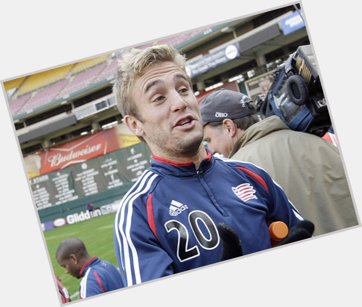 Taylor Twellman blonde hair & hairstyles Athletic body,