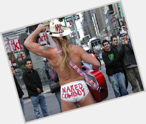 "<a href=""/hot-men/the-naked-cowboy/is-he-bi-2014"">The Naked Cowboy</a> Athletic body,  light brown hair & hairstyles"