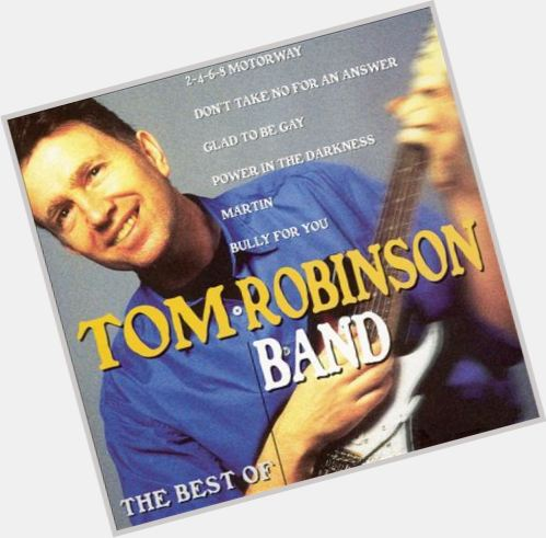 Tom Robinson hairstyle 3