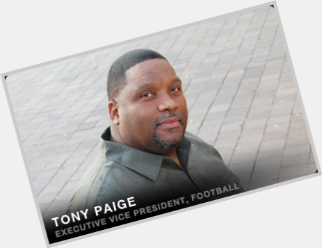 Tony Paige birthday 2015