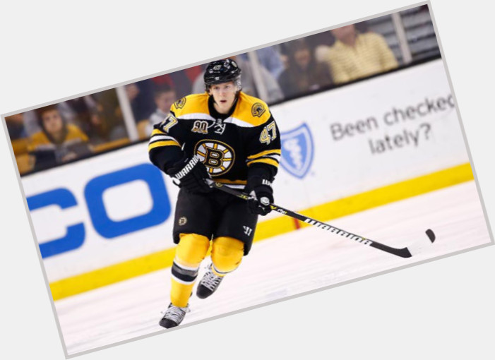 Torey Krug dark brown hair & hairstyles Athletic body,