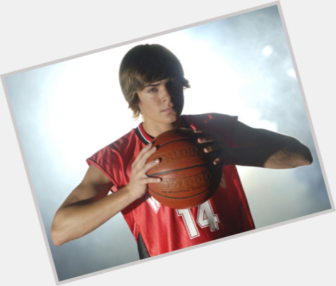 Troy Bolton light brown hair & hairstyles Athletic body,
