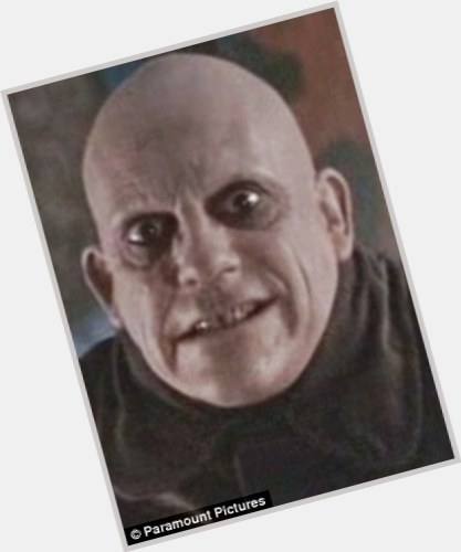 "<a href=""/hot-men/uncle-fester/is-he-real-dead-doc-back-future-alive"">Uncle Fester</a> Average body,  bald hair & hairstyles"