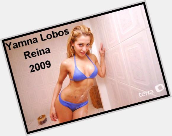 Yamna Lobos dyed blonde hair & hairstyles Voluptuous body,