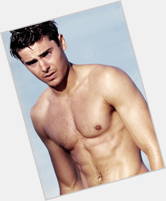 Zac Efron light brown hair & hairstyles Athletic body,