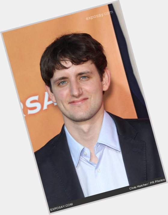 Zach Woods dark brown hair & hairstyles Athletic body,